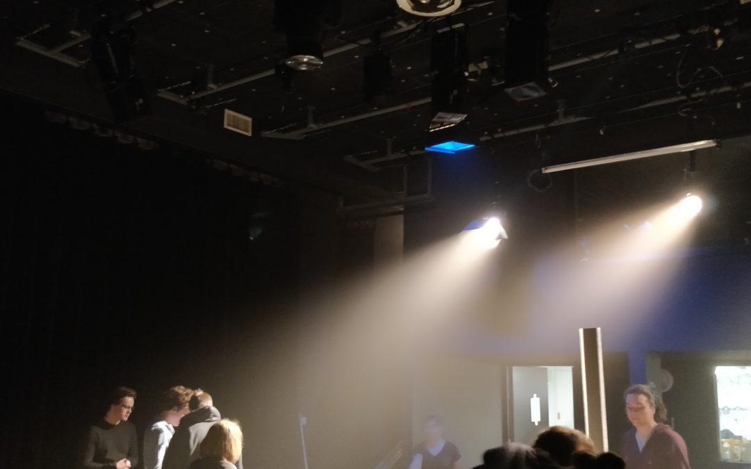 Régie lumière au théâtre de l'Elysée