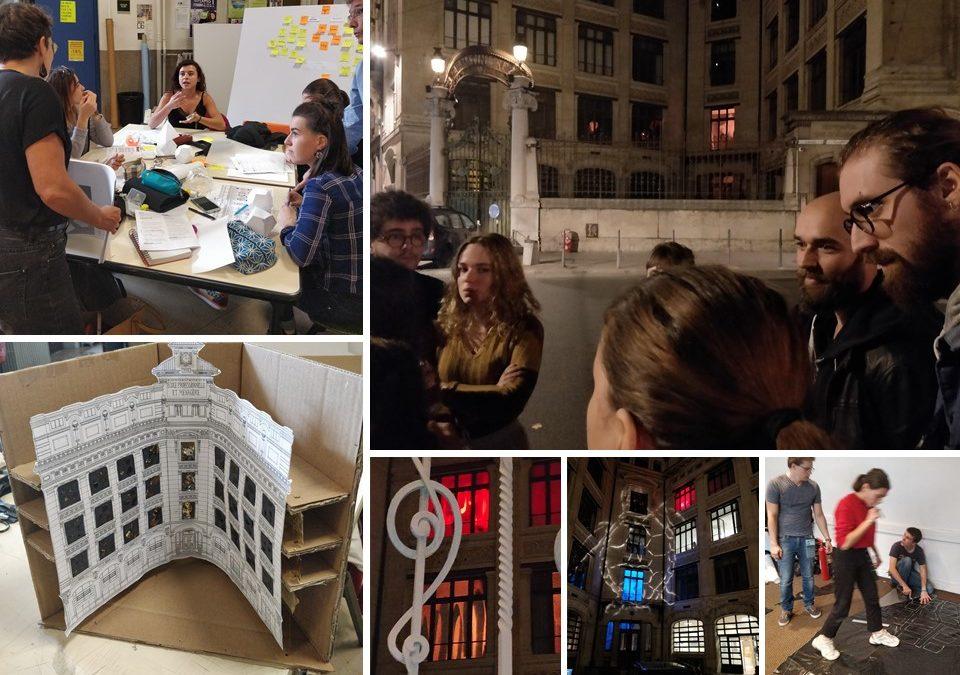 Workshop projet fête des lumières 2018