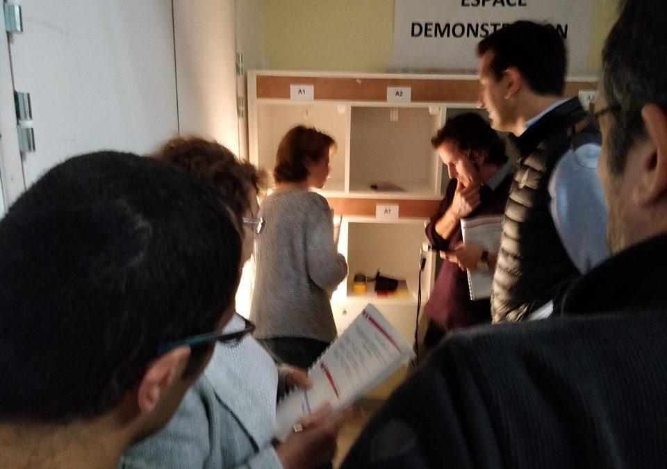 Formation des enseignants à la conception et installation d'un éclairage performant
