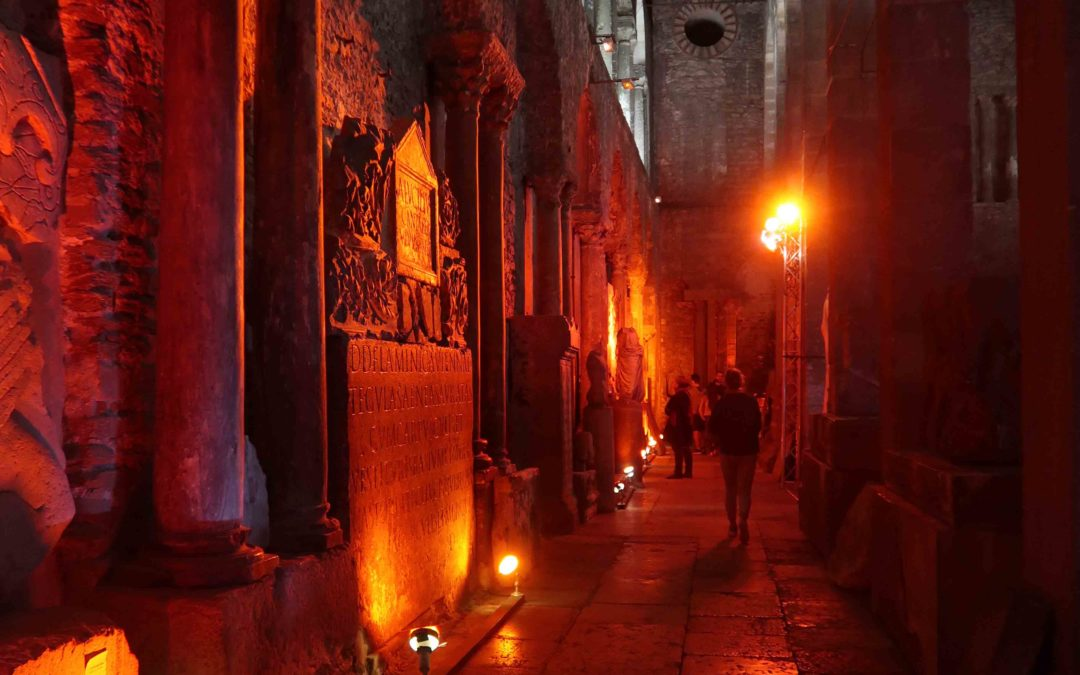 Mise en lumière pour la nuit des musées