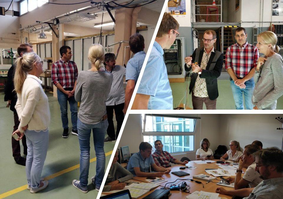 Mobilité d'élèves et apprentis de la voie pro. Accueil de la délégation de l'école professionnelle d'Offenburg – Allemagne